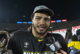 'You can't write it any better than this': Troy Dye discusses Oregon's emotional Rose Bowl title