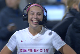 Washington State's Morgan Weaver on game-winning goal against UCLA: 'I've got to give everything I can'