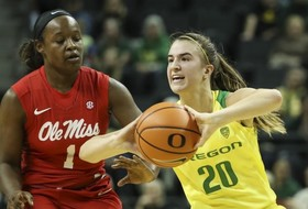 Michelle Smith Feature: Ionescu's record play gives Oregon's offense a boost