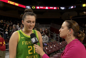 Erin Boley on Oregon's tough February schedule: 'We have to play to our potential every game'