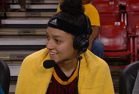 Reili Richardson on becoming ASU's all-time assists leader, completing weekend sweep
