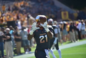 Jaelen Strong makes one-handed catch for ASU against Notre Dame