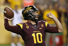 Taylor Kelly passes fellow Idahoan Jake Plummer on ASU touchdown list