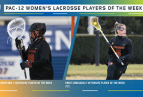 Pac-12 announces lacrosse players of the week