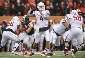 WSU quarterback Luke Falk shines in first career start