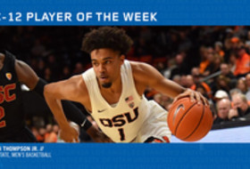 Pac-12 Men's Basketball Player of the Week - Stephen Thompson Jr., Oregon State (1/14/19)