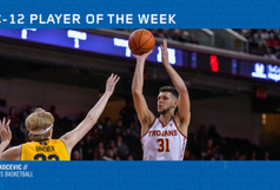 USC's Rakocevic tabbed men's basketball player of the week