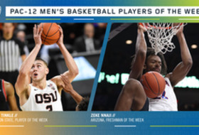 Pac-12 Men's Basketball Players of the Week (11/11/19)