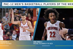 Pac-12 Men's Basketball weekly awards Nov. 18, 2019