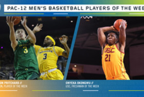 Pac-12 Men's Basketball Players of the Week 12/16/19