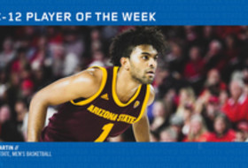 Pac-12 Men's Basketball Player of the Week - Remy Martin, Arizona State (12/17/18)