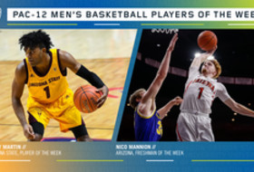 Pac-12 Men's Basketball Players of the Week (12/2/19)