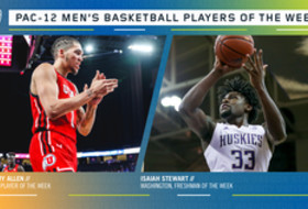 Pac-12 Men's Basketball Players of the Week 12/23/19