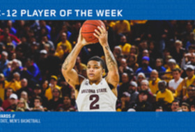 Pac-12 Men's Basketball Player of the Week - Rob Edwards, Arizona State (12/24/18)