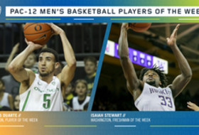 Pac-12 Men's Basketball Players of the Week 12/30/19