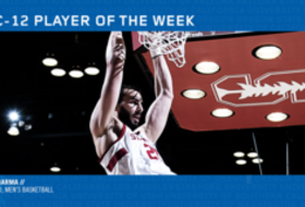 Stanford's Sharma nabs first-career Pac-12 men's basketball player of the week