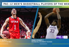 Pac-12 Men's Basketball Players of the Week 12/9/19