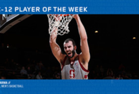 Pac-12 Men's Basketball Player of the Week - Josh Sharma, Stanford (2/18/19)