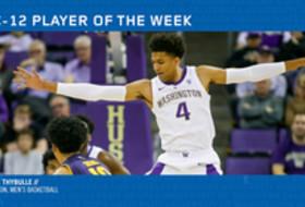 Pac-12 Men's Basketball Player of the Week - Matisse Thybulle, Washington (2/25/19)