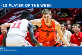 Pac-12 Men's Basketball Player of the Week - Tres Tinkle, Oregon State (2/4/19)