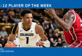Pac-12 Men's Basketball Player of the Week - Tyler Bey, Colorado (3/11/19)