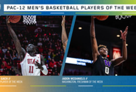 Pac-12 Men's Basketball Players of the Week 3/9/20