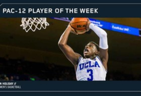 UCLA's Holiday closes with third Pac-12 Men's Basketball weekly award