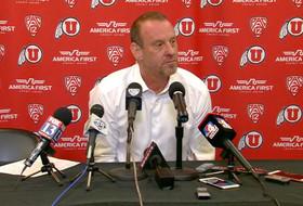 Utah men's basketball coach Larry Krystkowiak responds to allegations against Kyle Kuzma: 'He's not guilty in my mind'
