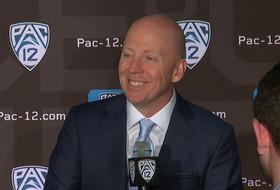 2019 Pac-12 Men's Basketball Media Day: UCLA's Mick Cronin podium