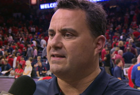 Sean Miller talks Red-Blue Game takeaways, Arizona's depth down low for upcoming season