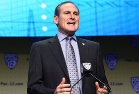 2017 Pac-12 Football Media Days: Larry Scott announces title game to stay at Levi's Stadium through at least 2019