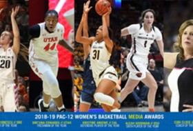 2018-19 Pac-12 women's basketball media awards announced