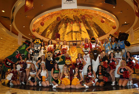 Pac-12 mascots meet at 2013 Men's Basketball Championship Tournament