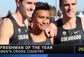 Colorado's Kashon Harrison named 2019 Pac-12 Men's Cross Freshman of the Year