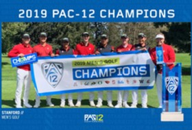 Stanford Captures Pac-12 Men's Golf Championship California's Morikawa earns Medalist Honors at 12-Under