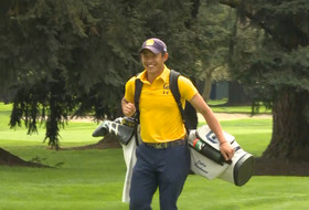 2019 Pac-12 Men's Golf Championships: Cal's Collin Morikawa talks eagle hole-out on hole No. 1, 'carrying momentum' into final day