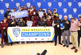 Arizona State captures Pac-12 wrestling title