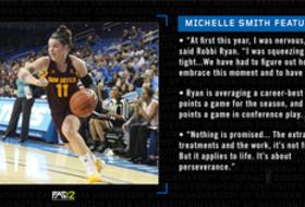 Michelle Smith WBB Feature: ASU's Robbi Ryan digs deep this season