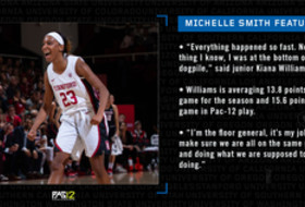 Michelle Smith WBB Feature: Stanford's Williams taking care of business