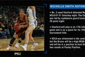 Michelle Smith WBB Notebook: No. 3 Stanford faces tough challenge taking on No. 1 Oregon in Pac-12 Championship