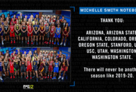 Michelle Smith WBB Feature: Thanks for the best Pac-12 women's basketball season ever