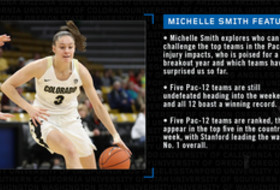 Michelle Smith women's basketball notebook: Around the League