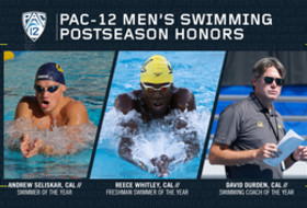 Pac-12 announces 2019 men's swimming & diving postseason awards