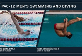 Pac-12 announces first men's Swimmer and Diver of the Week