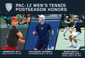 Pac-12 announces men's tennis 2019 postseason honors
