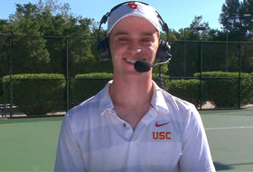 2019 Pac-12 Tennis Championships: USC's Jake Sands glad to be playing in front of friends, family in Ojai: 'It's like no other place'