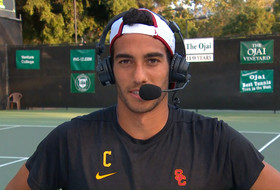 2019 Pac-12 Tennis Championships: USC's Daniel Cukierman breaks down Court 2 win in semifinals: 'It was an incredible match'