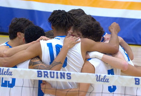 Recap: No. 4 UCLA men's volleyball defends home court against No. 7 BYU