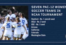 Defending Champs, No. 1 Seed and Seven Pac-12 Women's Soccer teams Start NCAA tournament action