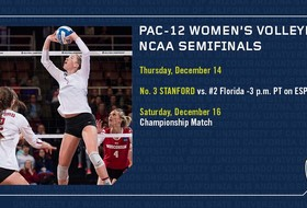 Stanford volleyball represents Pac-12 in NCAA Semifinal